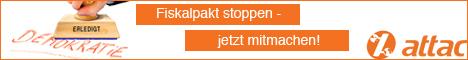 Online-Aktion Fiskalpakt stoppen!